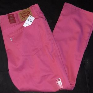 Levi's 541 Athletic Fit Zipper Fly Jeans